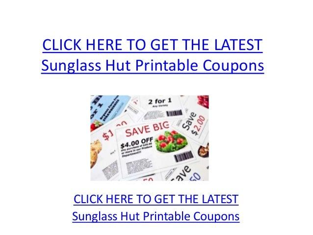 photo regarding Sunglass Hut Printable Coupons identify Sungl Hut Printable Coupon codes - Sungl Hut Printable Discount coupons