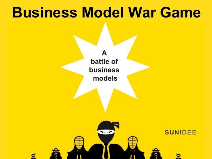 Business Model War Gamewww.BusinessModelWarGame.com