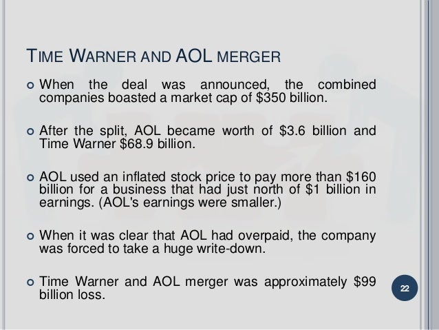 time warner and aol merger essay Friday, june 28, 2013 aol/time warner merger.
