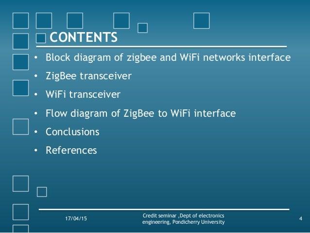 Wireless Sensor Networks Using Zigbee And Wifi