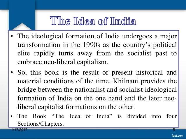 Idea India Of By Khilnani Sunil The