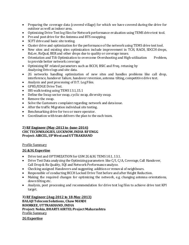 sunil saini rf engineer updated resume