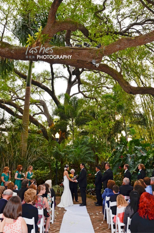 Sunken Gardens Wedding Pictures by Lashes Photography, a Tampa Weddin…