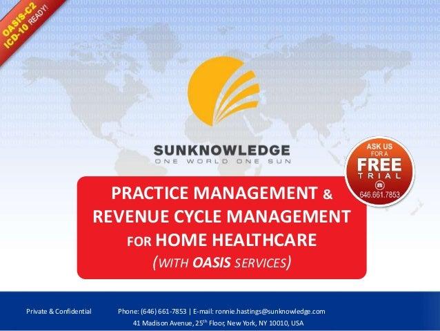 practice management revenue cycle management services for home healt rh slideshare net Revenue Cycle Graphic certified revenue cycle specialist study guide