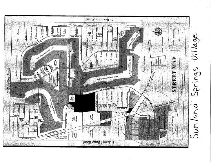 Sunland Springs Village / Homes - Floor Plans