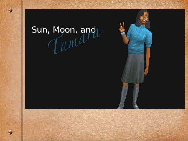 Hello! Welcome back to Sun, Moon & Tamara, a The Sun And The Moon challenge. (Challenge created by whisper_doll on LiveJou...