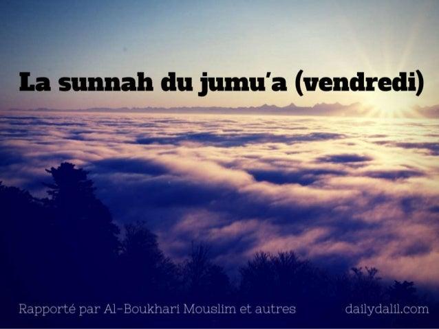Sunnah du joumou'a (vendredi)