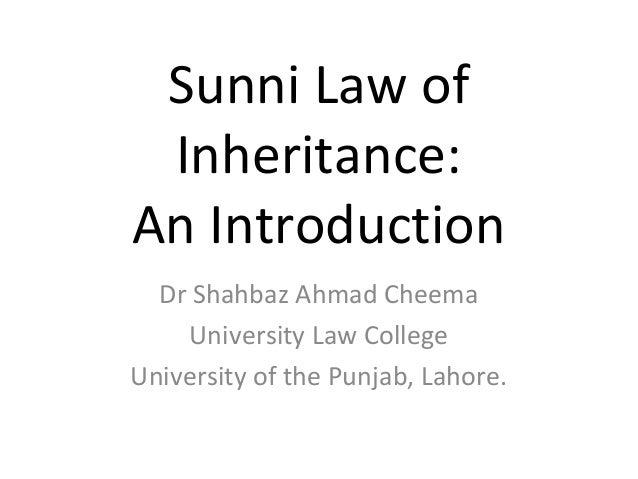 sunni law