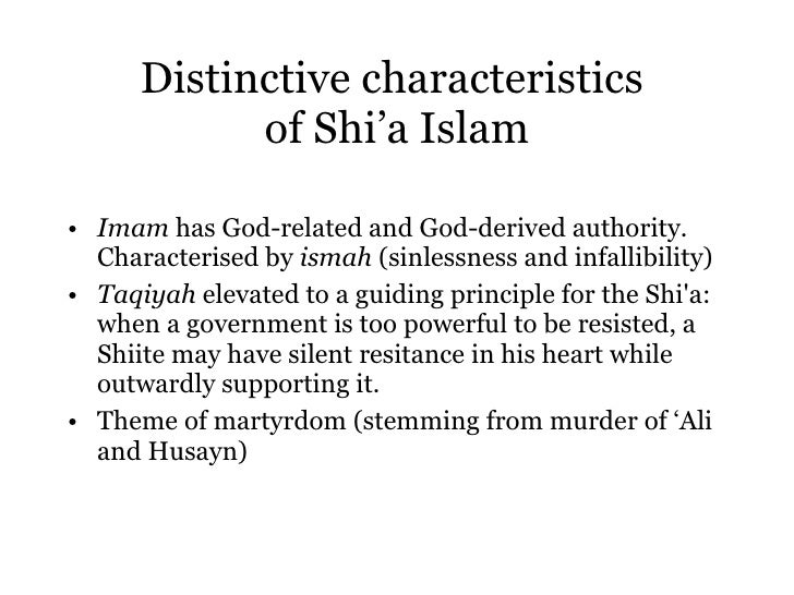 an introduction to the concepts of shiites and sunni muslims These five practices are essential to sunni and shia muslims shia theology has two concepts that define  there are no shiites and no sunni we are all muslims.
