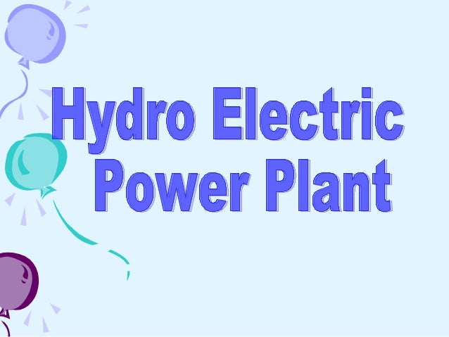  In hydroelectric power station potential and kinetic energy of stored water is converted into electric energy .  For hy...