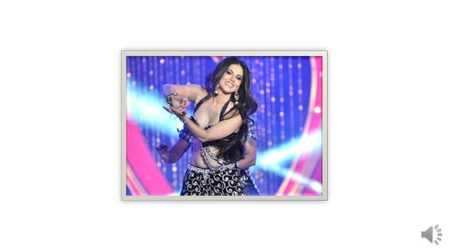 sunny Leone stage show with tusharkappor black dress locking so hot andsexy now Leone is very popularposition.now she is v...