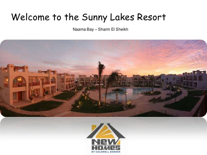 Welcome to the Sunny Lakes Resort<br />Naama Bay – Sharm El Sheikh<br />