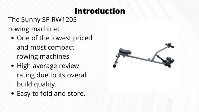 Sunny Health Fitness Sf Rw1205 Rowing Machine Rower Review