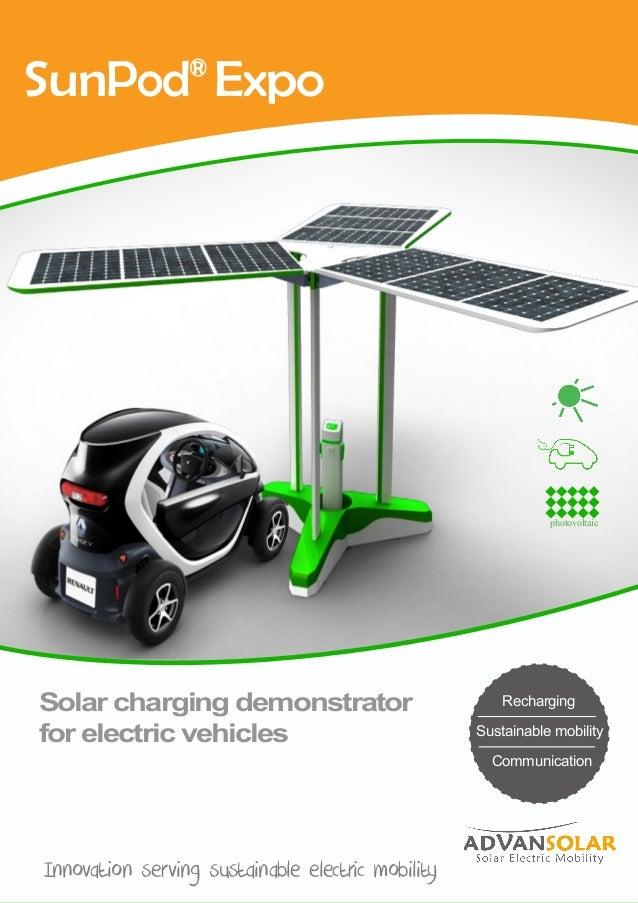 Recharge + wifi Autonomie Communication Stand de recharge solaire et d'accès Wifi L'innovation solaire au service de vos u...