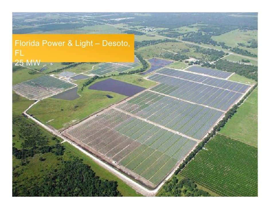 Florida Power & Light – Desoto, FL 25 MW