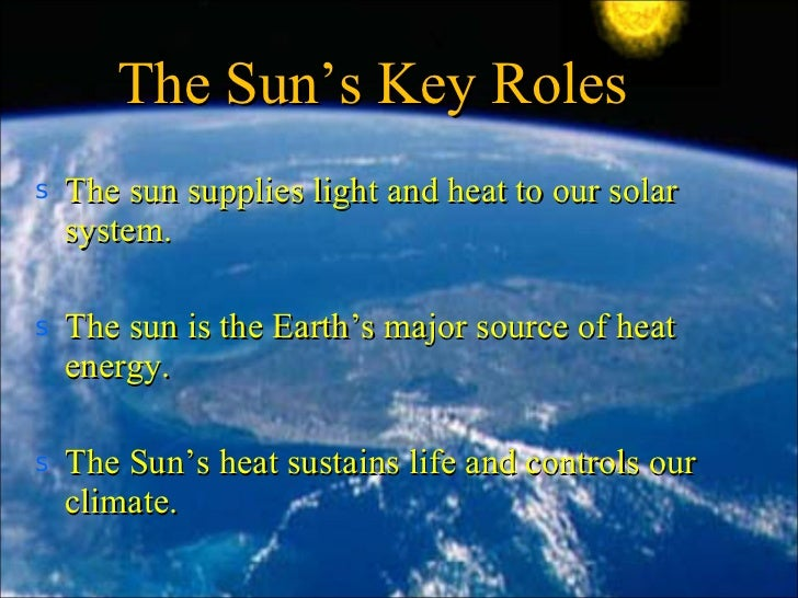 the importance of suns energy and photosynthesis Photosynthesis, generally, is the synthesize food directly from inorganic compounds using light energy - for example the sun the most important biochemical.