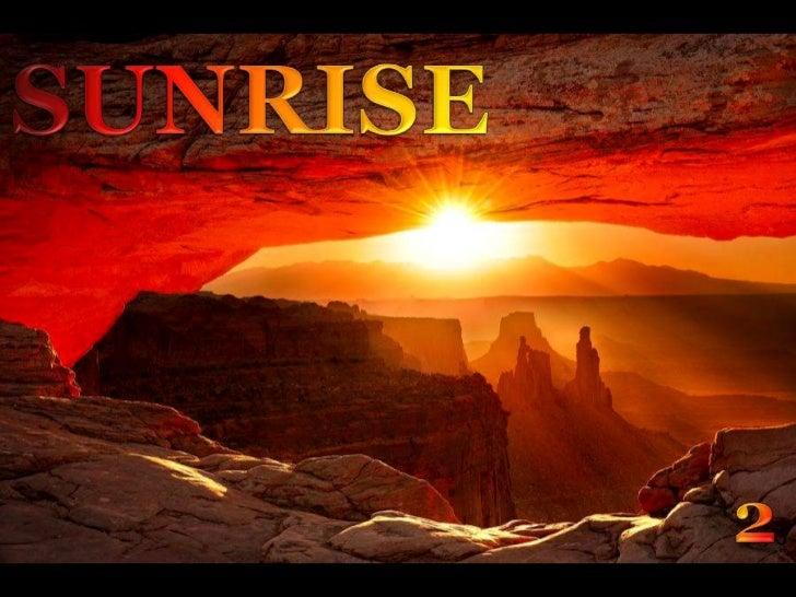 SUNRISE<br />2<br />