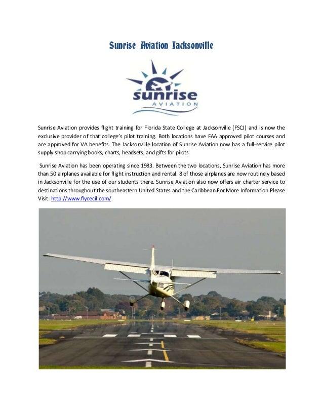 Sunrise Aviation Jacksonville