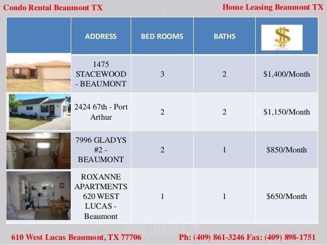 Roxanne Apartments Beaumont Tx