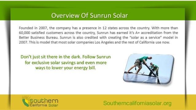 Sunrun Solar Customer Reviews - Reducing Energy Cost With Solar