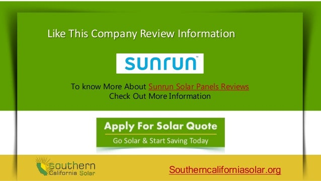 Sunrun Solar Customer Reviews - Reducing Energy Cost With Solar