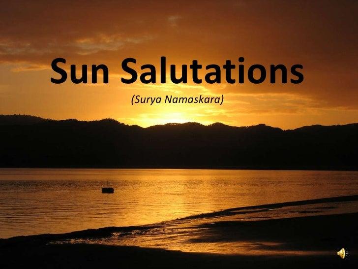 Sun Salutations (Surya Namaskara)