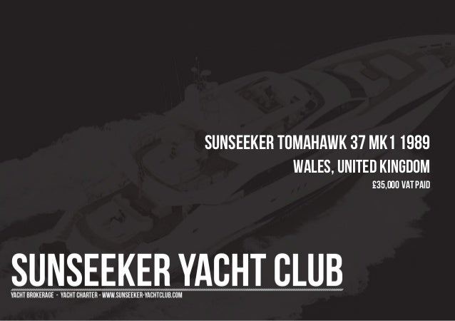 SUNSEEKER Tomahawk 37 MK1 1989 Wales, United Kingdom £35,000 Vat Paid