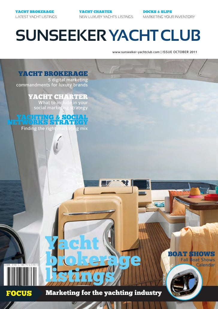 YACHT BROKERAGE               YACHT CHARTER                   DOCKS & SLIPS LATEST YACHT LISTINGS         NEW LUXURY YACHT...
