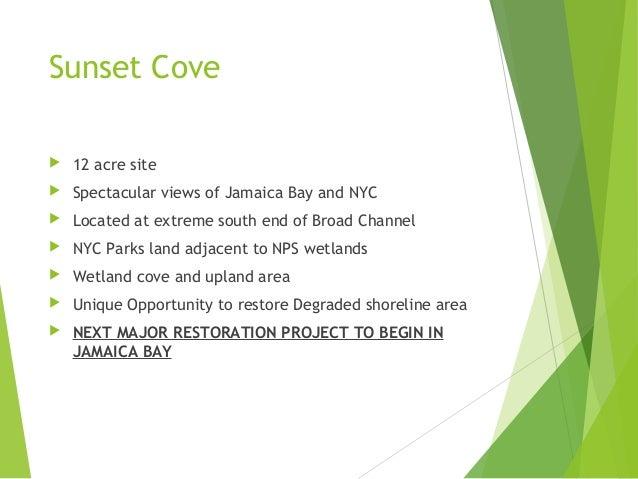 Sunset cove restoration project -update Slide 2