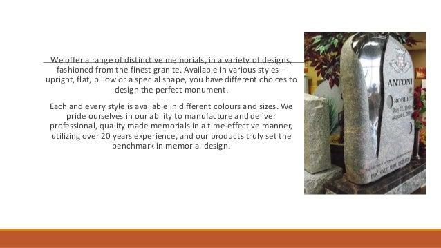 Sunset memorial & stone Slide 3