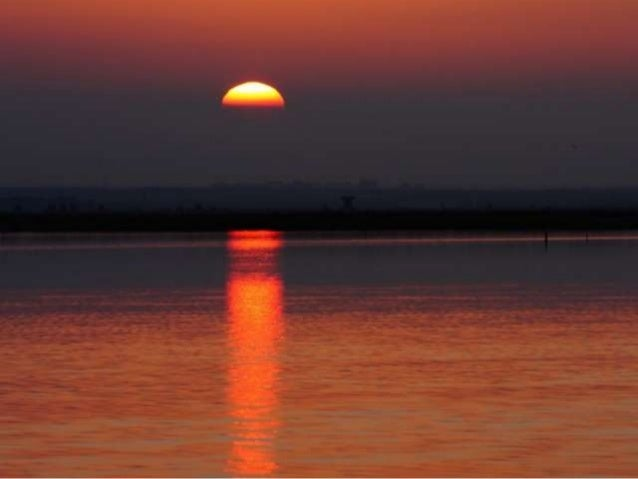 Sunsets over water (v.m.)