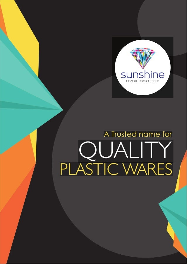 Sunshine Products, Chennai, Household Plastic Products