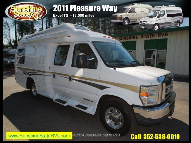 Used pleasure way motorhomes