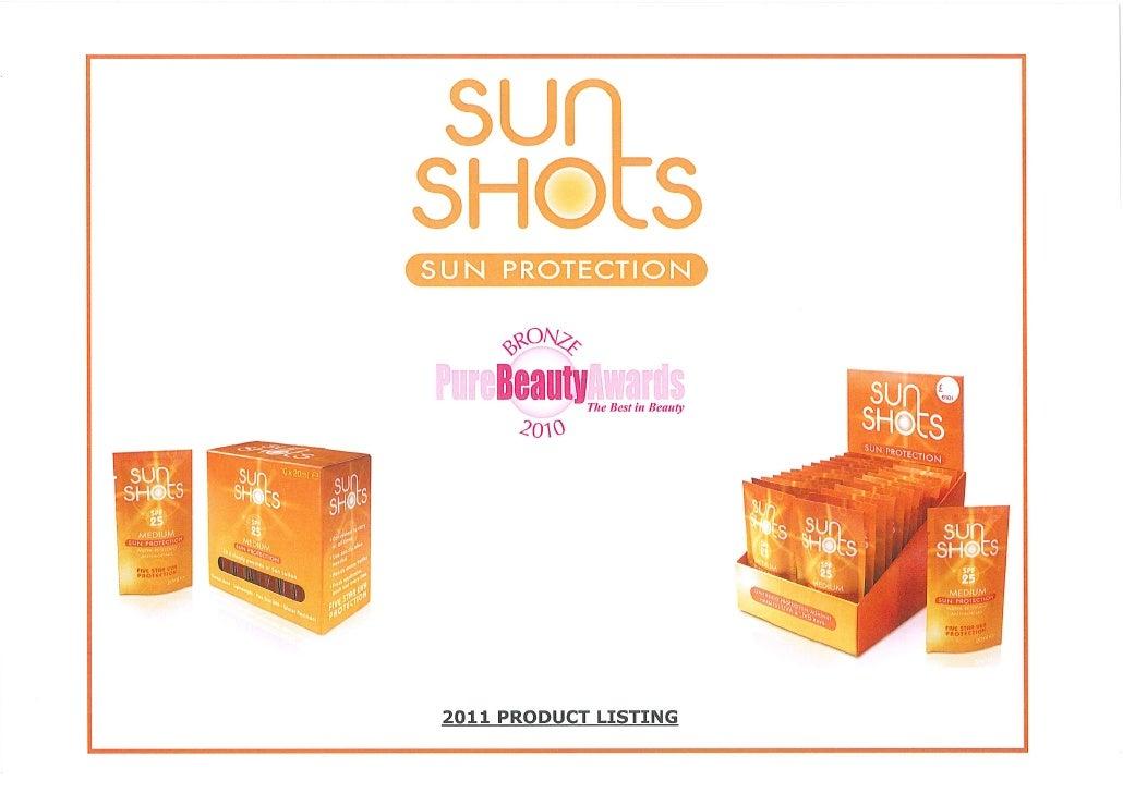 SunShots 2011 brief