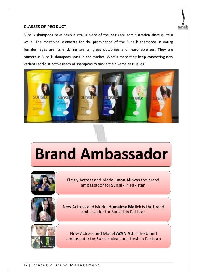 Sunsilk brand audit report