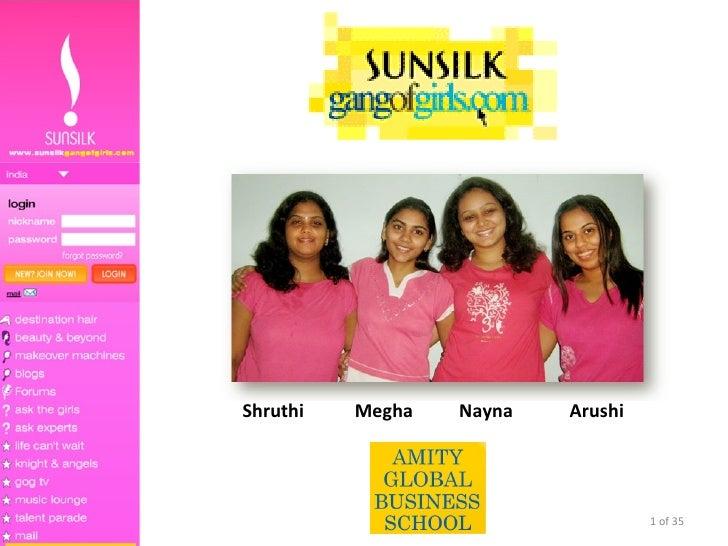 Shruthi  Megha  Nayna   Arushi  of 35