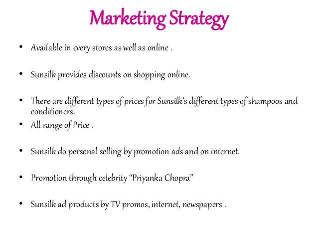 Sunsilk Marketing Mix