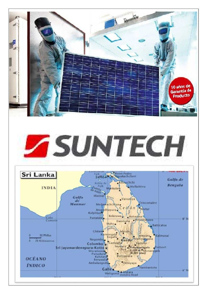 TITLE                PAGEWhat is SUNTECH                         3Global Operation                        3Investors      ...