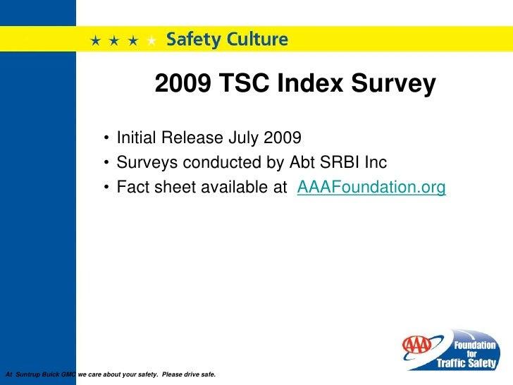 SuntrupAutomotiveFamilyAAA Traffic Safety Index