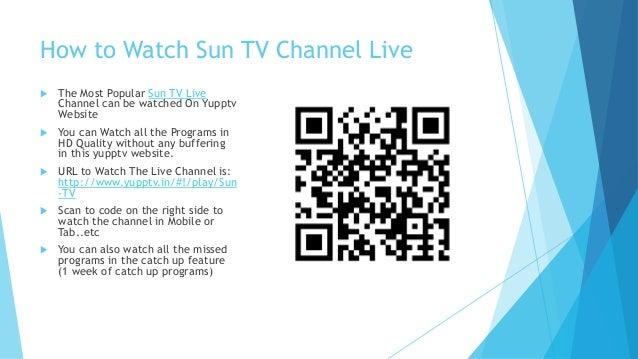 Sun tv live tamil channel