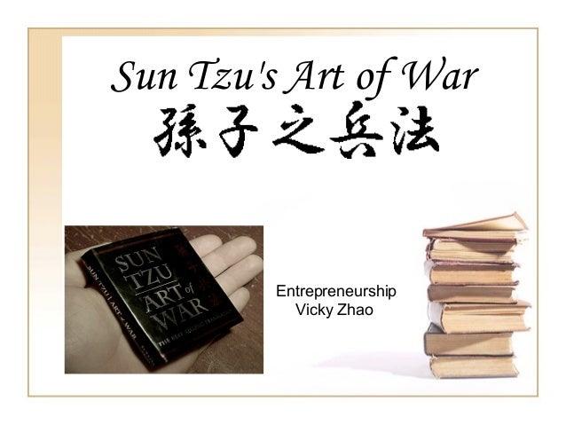 Sun Tzu's Art of War Entrepreneurship Vicky Zhao