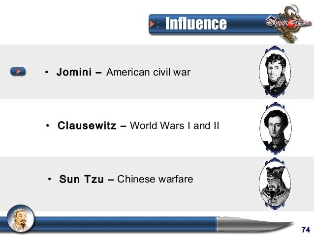 compare and contrast sun tzu and clausewitz Classical strategists, jomini, theories and approach, understand his legacy, politics and war, compare and contrast, staff officer, french and russian, contemporary of clausewitz, control upheavals represent lecture layout this lecture is part of lecture series on theory and nature of war.