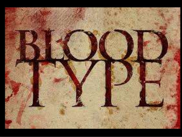 Blood Types and Personality of Blood Types