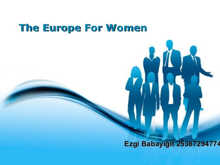 The Europe For Women Ezgi Babayiğit 25387294774