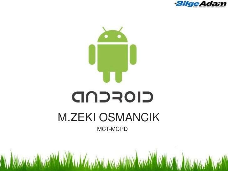 M.ZEKI OSMANCIK     MCT-MCPD