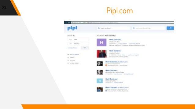 23 Pipl.com