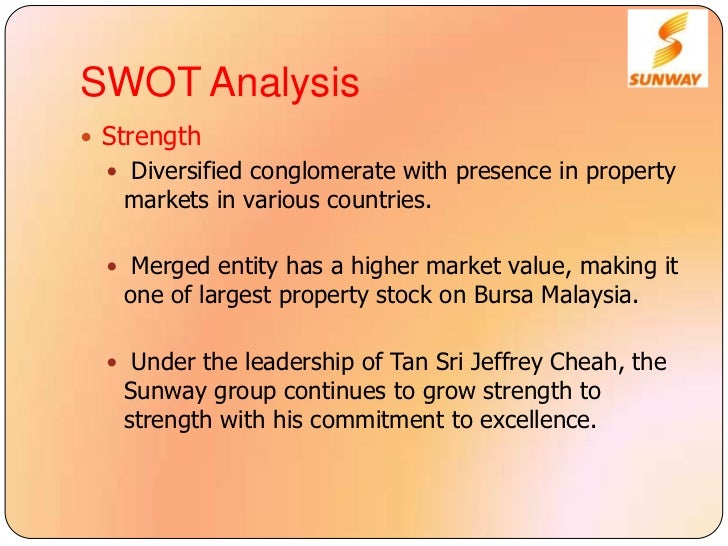 swot analysis for property development malaysia