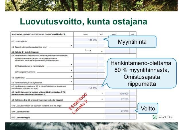 Www.Vero.Fi/Lomakkeet Vuosi-Ilmoituslomakkeet Ja Täyttöohjeet