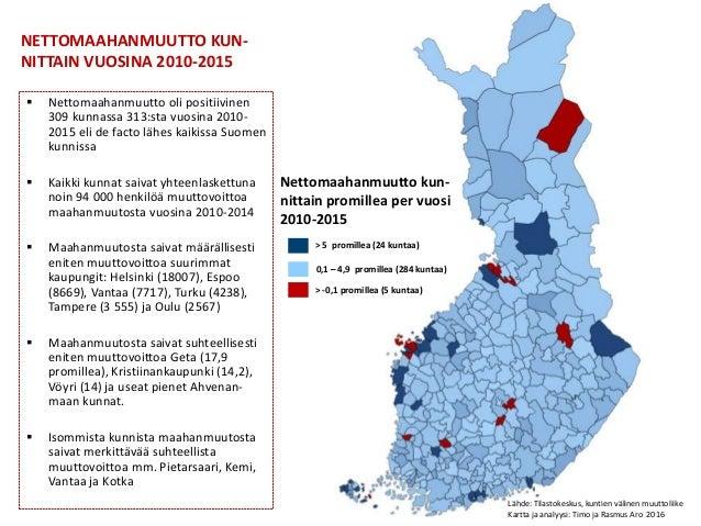 Suomen Vetovoimaisimmat Kunnat 2010 Luvulla