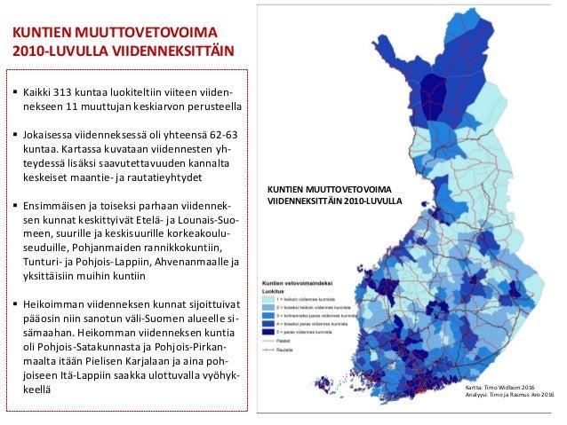 suomen kunnat kartta